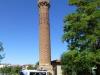 ... und begleitet uns im Minibus zum schiefen Minarett von Aksaray...